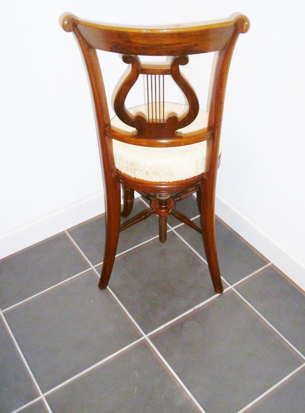cellist  piano  chair antiques atlas