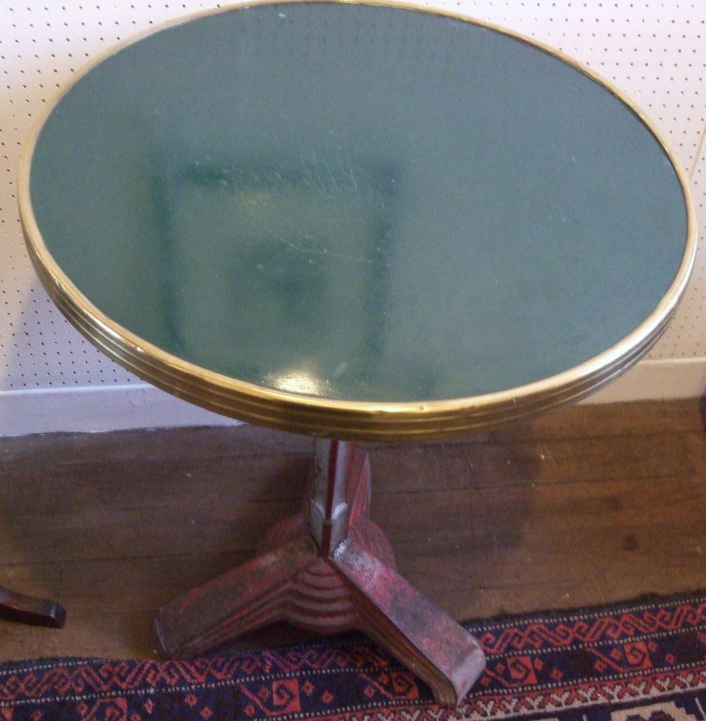 French Art Deco Bistro Table Antiques Atlas