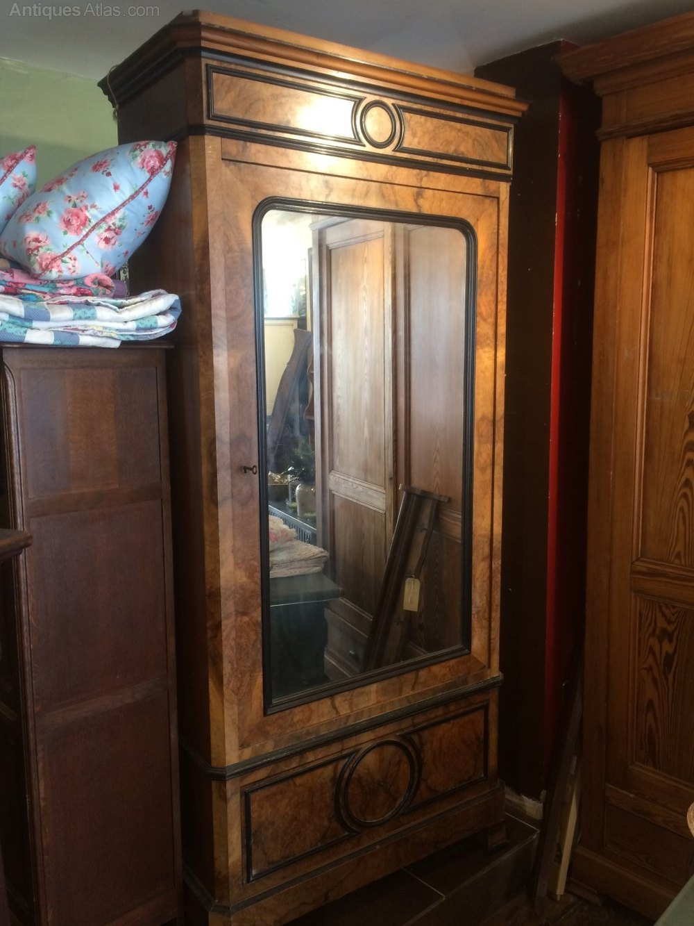 Antique French Armoire With Mirror Door Antiques Atlas