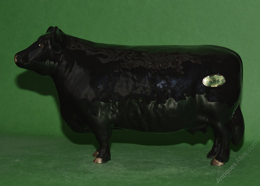 Antiques Atlas - Beswick Aberdeen Angus Cow Model No. 1563