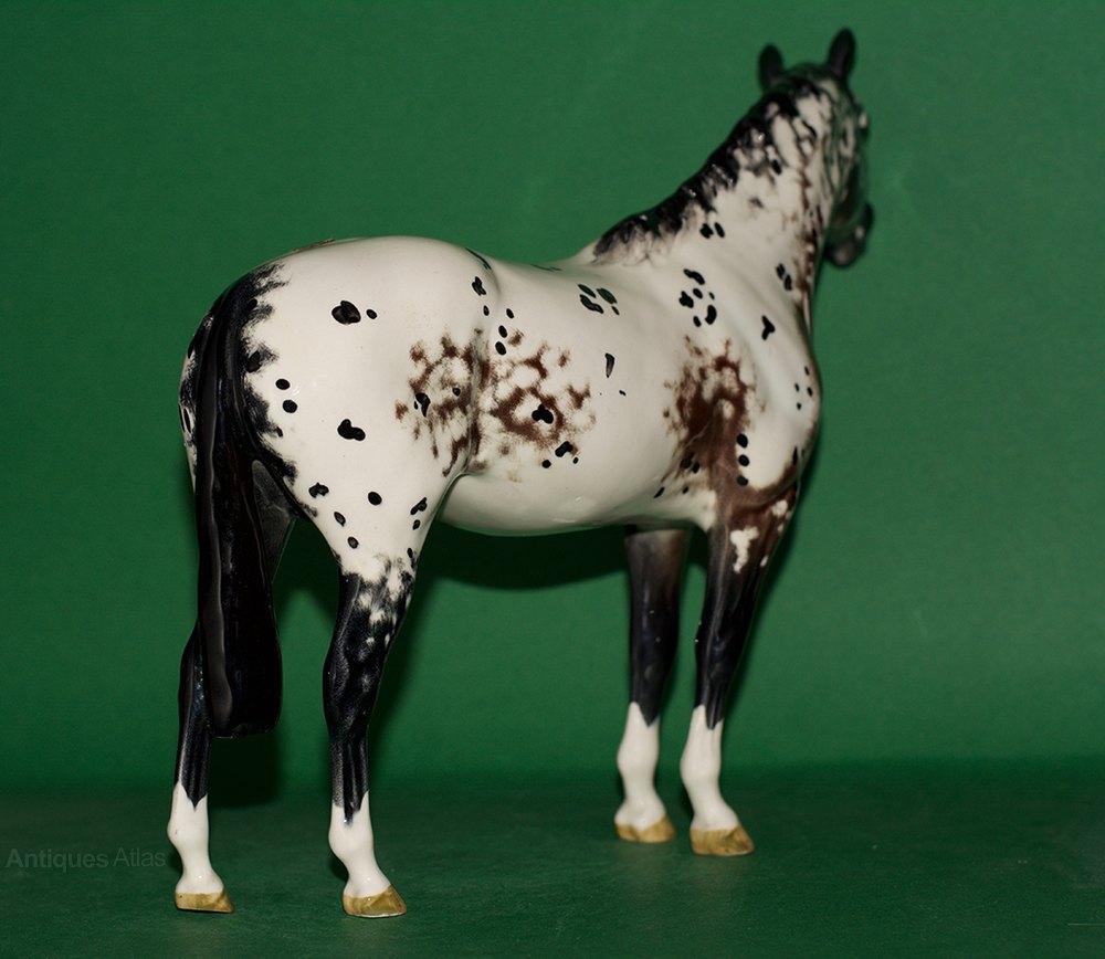 Antiques Atlas - Beswick Appaloosa Stallion Model (A)1772