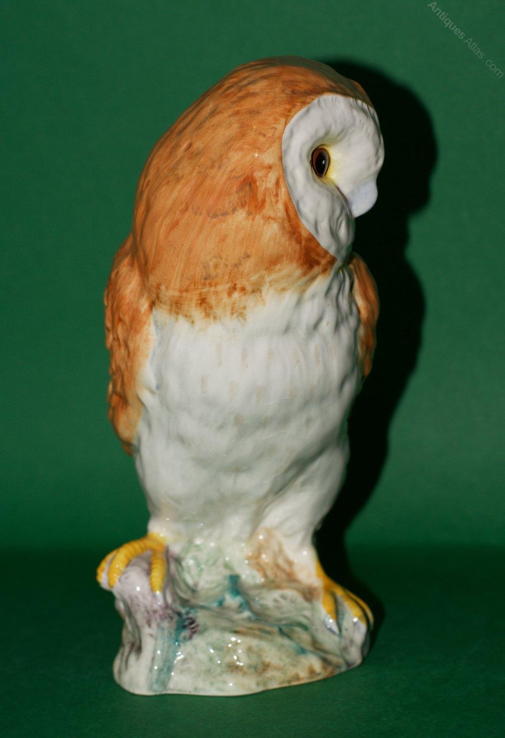 Antiques Atlas - Beswick Barn Owl - Model No. 1046B 2nd ...