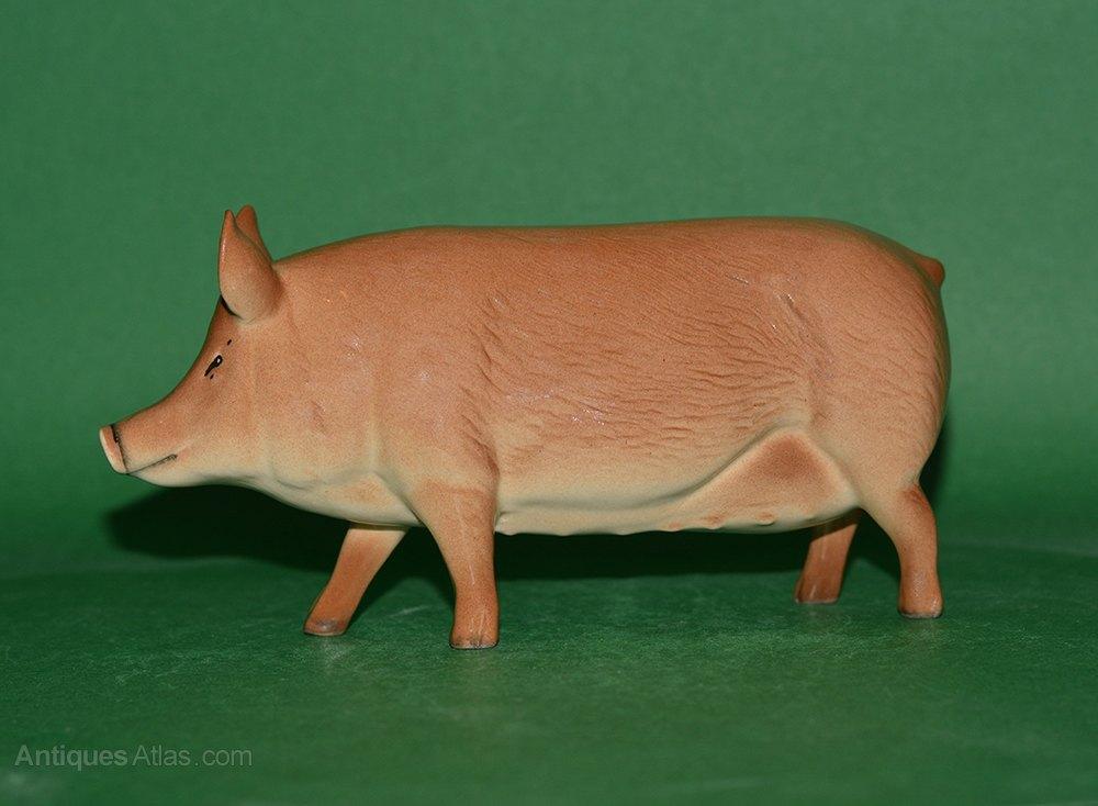 Antiques Atlas Beswick Tamworth Pig Model No G215