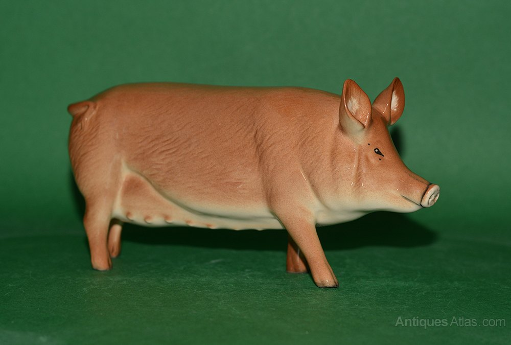 Antiques Atlas Beswick Tamworth Pig Model No G215