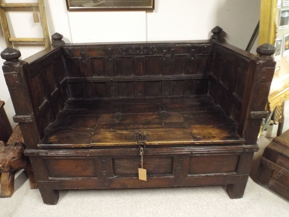 Late 19th Century Indian Carved Daybed Bench Antiques Atlas