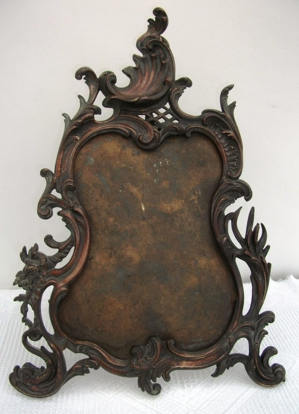 Antiques Atlas Antique Bronze Mirror Frame