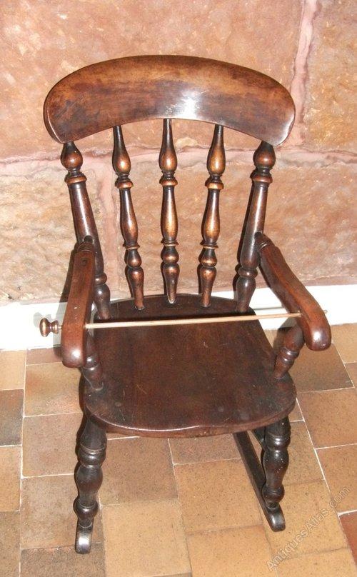 Antique Childs Windsor Rocking Chair - Antique Childs Windsor Rocking Chair