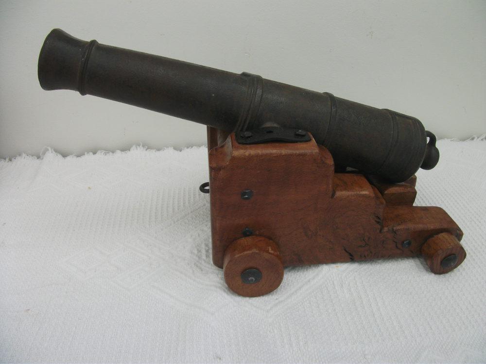 Antiques Atlas - Antique Naval Signal Cannon