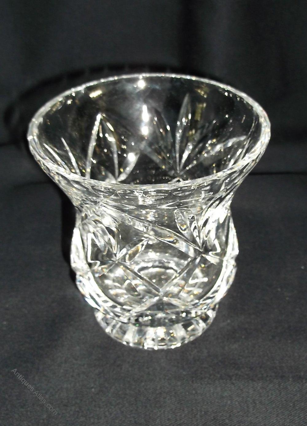 Antiques Atlas Brierley Cut Glass Vase