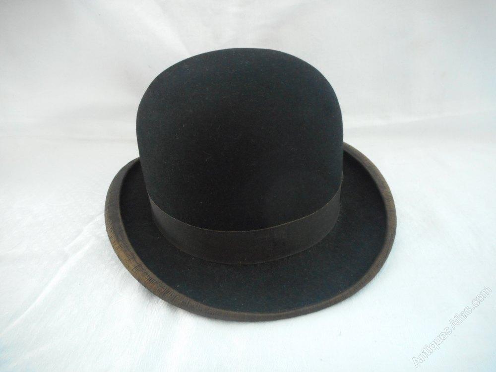 4d92c64d496 Dunn   Co Bowler Hat Vintage Hats and Bonnets ...
