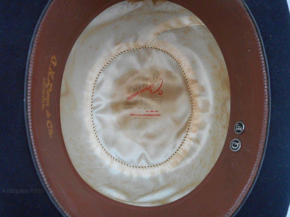 4528777989e Photos. Dunn   Co Bowler Hat Vintage Hats and Bonnets ...
