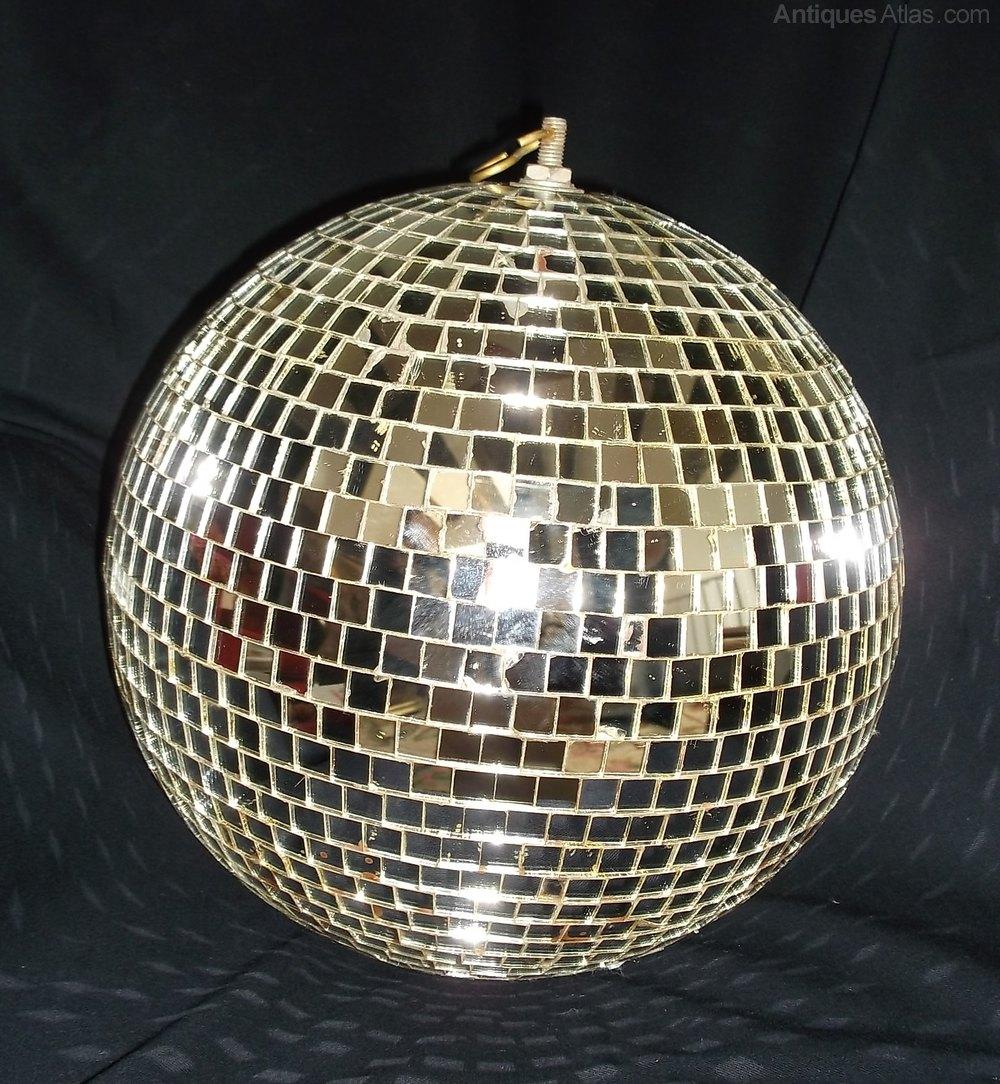 Antiques Atlas Mirror Glitter Ball