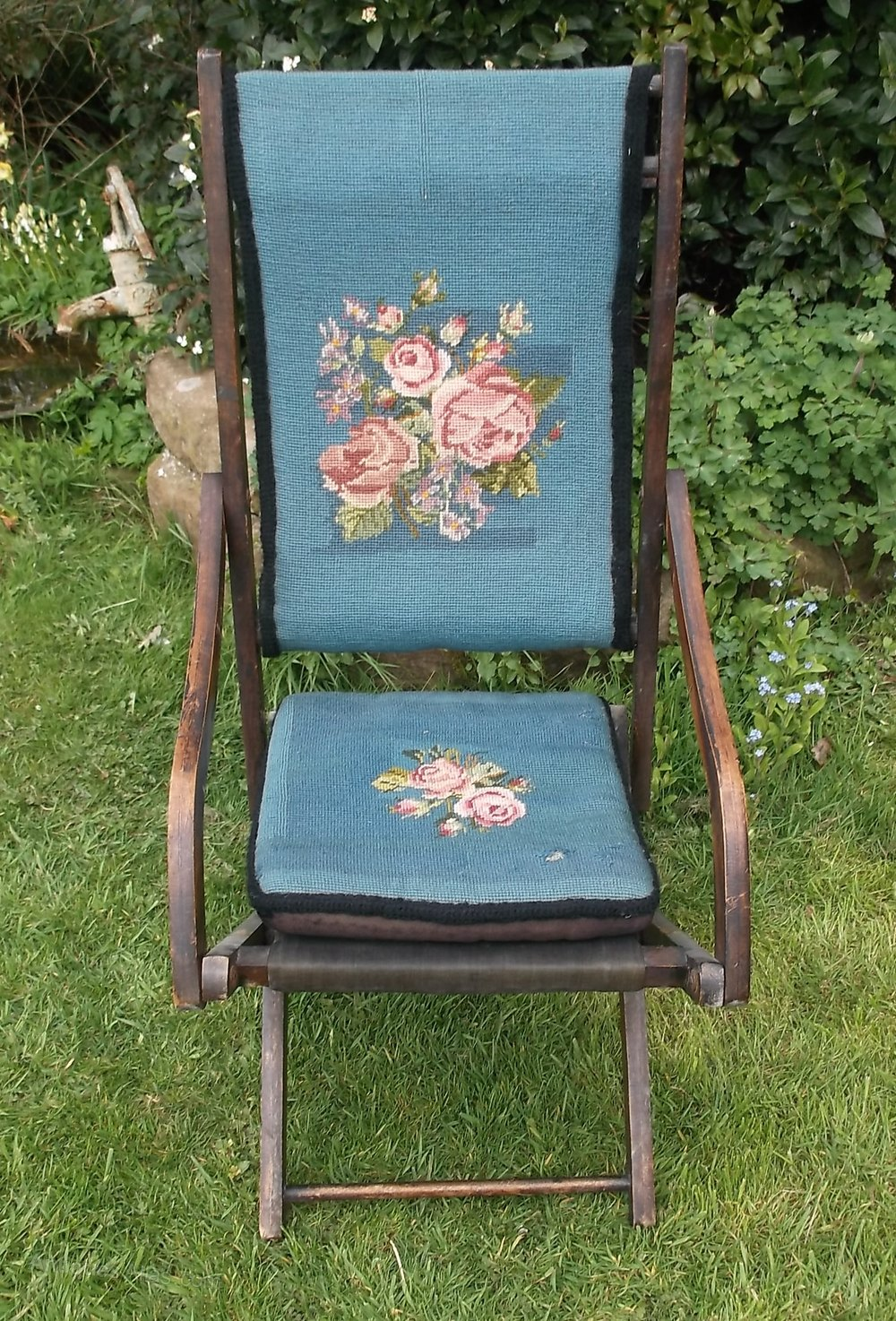 Victorian Upholstered Campaign Chair Antiques Atlas
