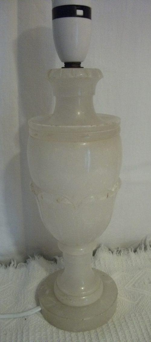 Antiques Atlas White Onyx Table Lamp