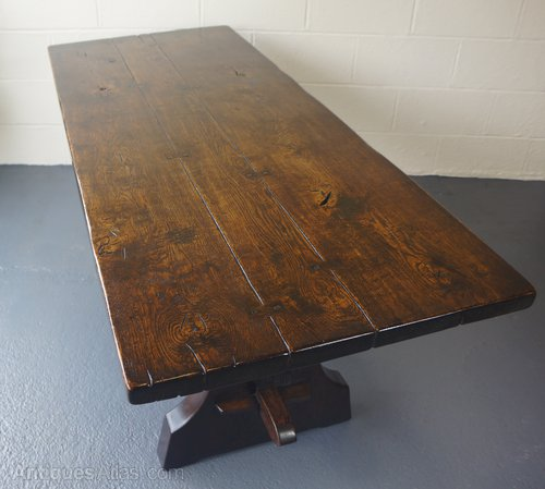 Rupert Griffiths Tudor Jacobean Refectory Table Vintage Refectory Tables ...