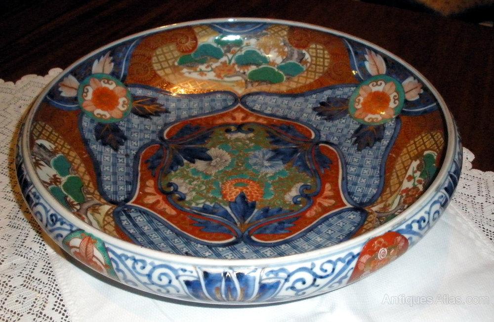 Stunningly Beautiful LARGE ANTIQUE IMARI BOWL ... & Antiques Atlas - Stunningly Beautiful LARGE ANTIQUE IMARI BOWL