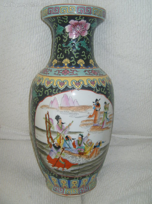 Antiques Atlas Antique Chinese Baluster Vase