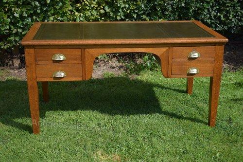 Fabulous Antique Oak Desk Download Free Architecture Designs Scobabritishbridgeorg