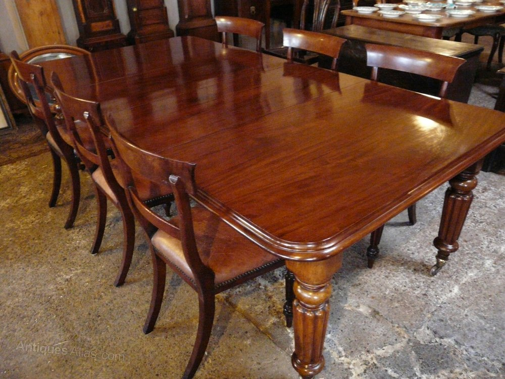 early victorian mahogany dining table antique extending dining tables - Mahogany Dining Table