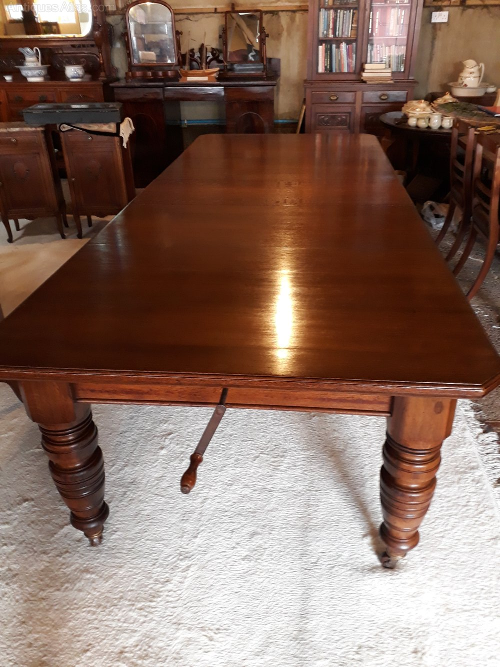 8 seater victorian mahogany dining table antiques atlas. Black Bedroom Furniture Sets. Home Design Ideas