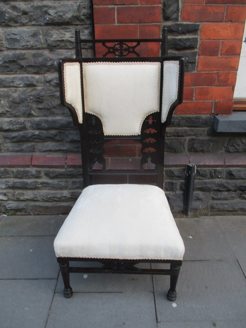 Aesthetic movement chair - Antique Salon Chairs - Antiques Atlas