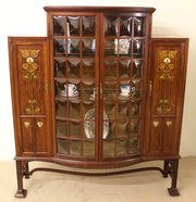 Art Nouveau Display Cabinet By
