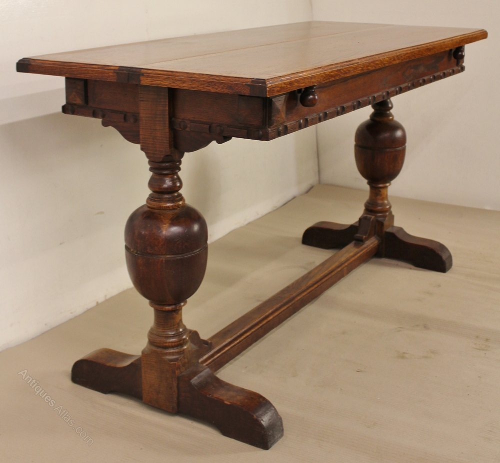 Extendable Oak Dining Table Antiques Atlas