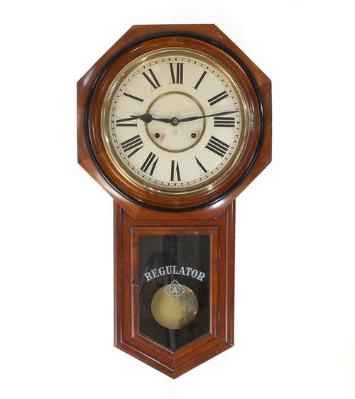 Antiques Atlas American Striking Wall Clock By Ansonia