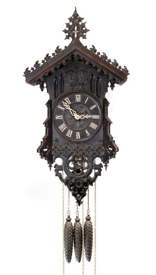 Antiques Atlas Beha Quarter Striking Cuckoo And Quail Clock