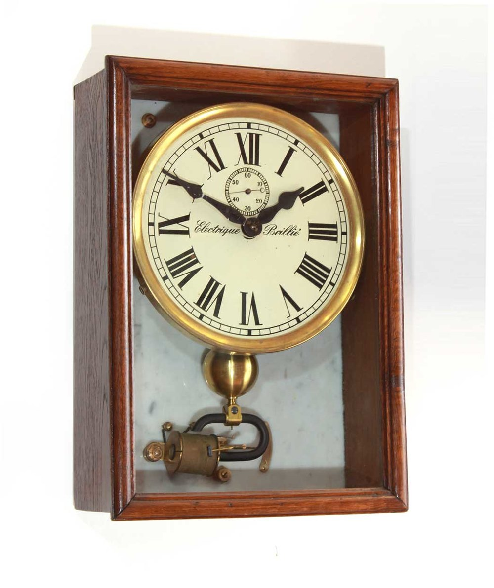 Antiques Atlas Brilli 233 Electric Wall Clock