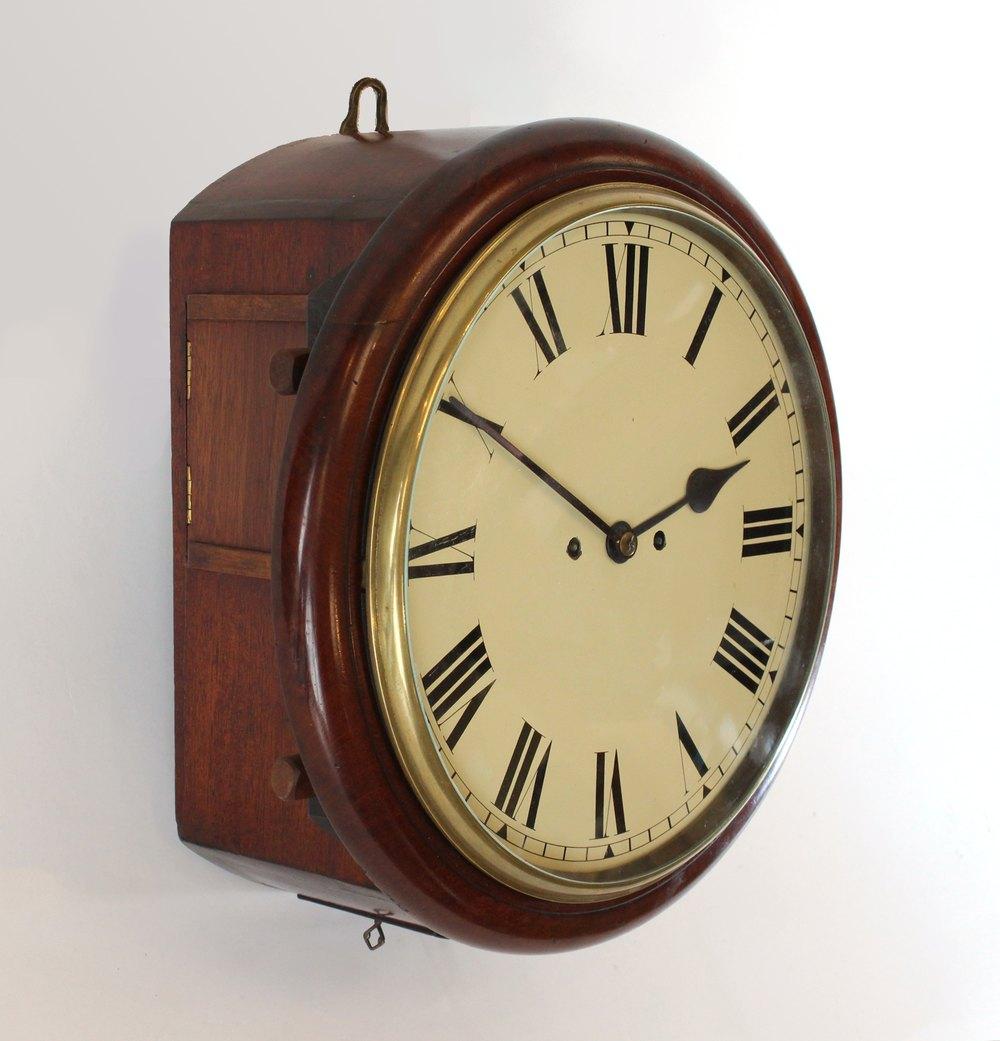 Antiques Atlas Fusee Striking Wall Clock