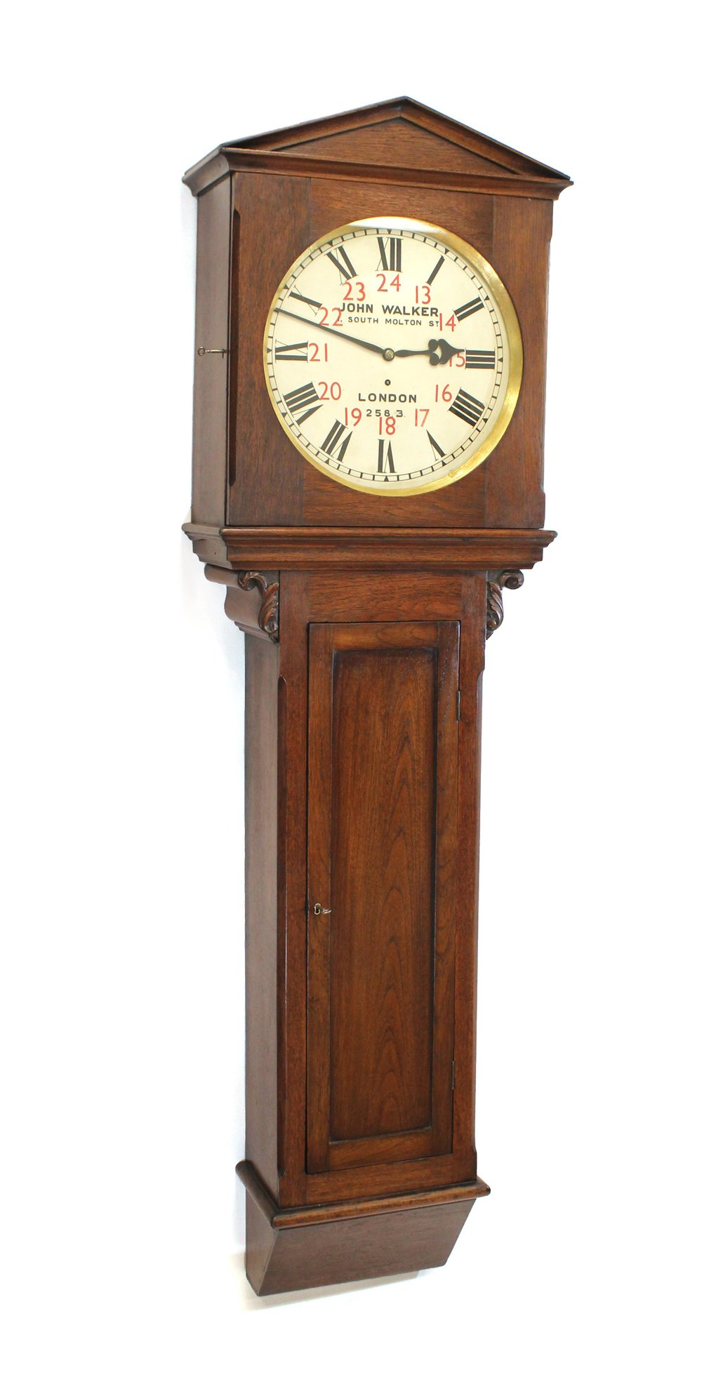 Antiques Atlas Massive Station Clock From Boxhill