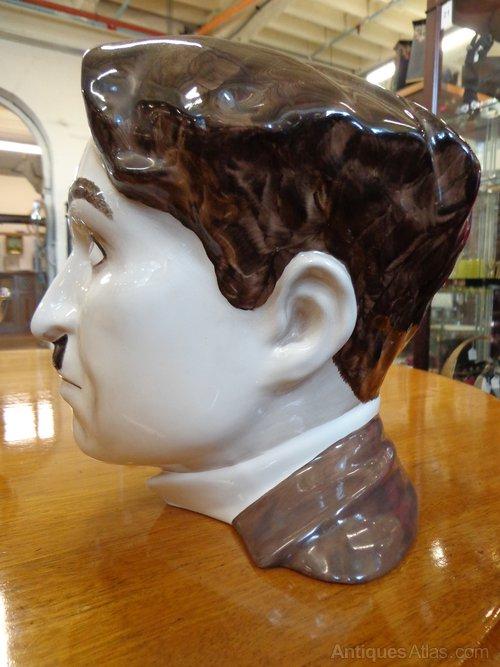 Antiques Atlas Charlie Chaplin Ceramic Bust