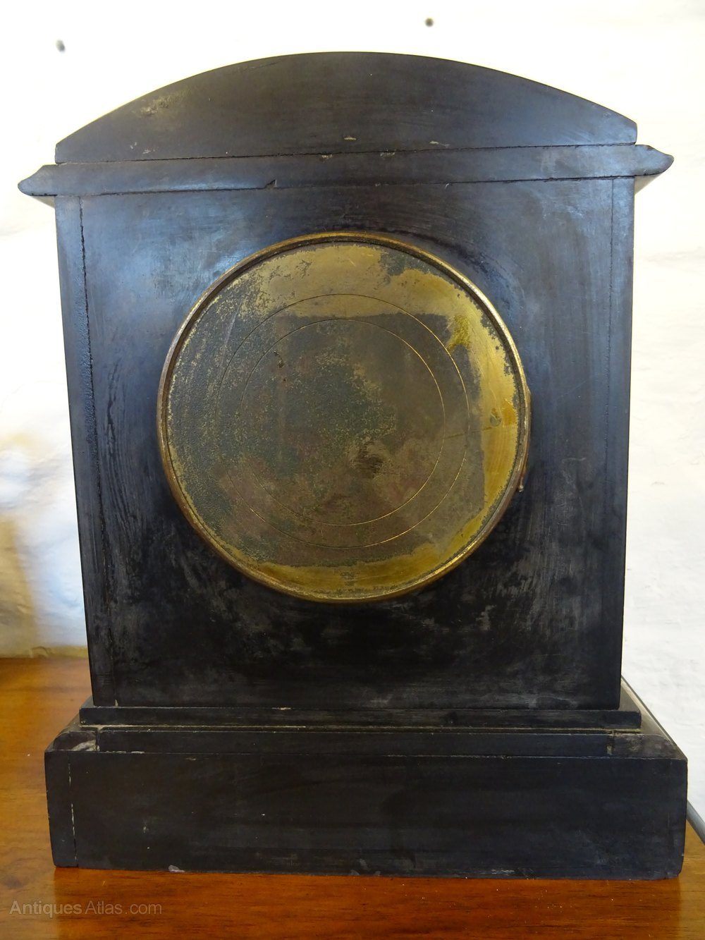 Antiques Atlas Late Victorian Slate Mantel Clock