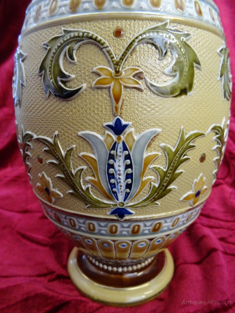 Antiques atlas late victorian villeroy boch mettlach vase late victorian villeroy boch mettlach vase antique ceramics victorian german reviewsmspy