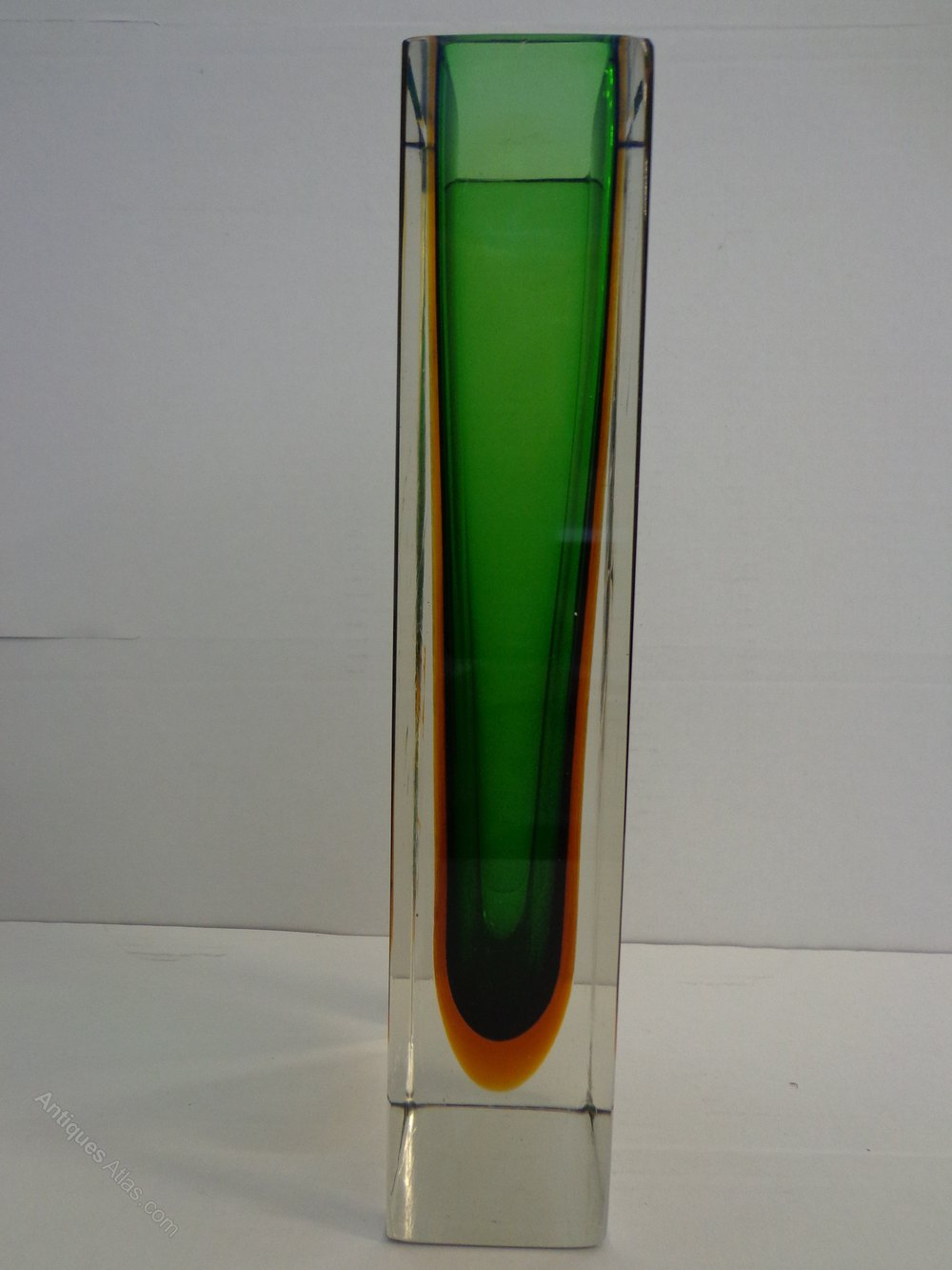 Antiques Atlas Murano Sommerso Glass Vase