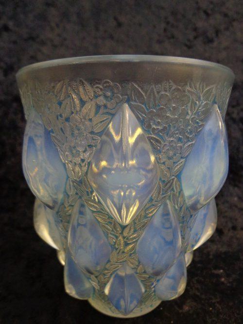 Antiques Atlas Rene Lalique Rampillon Opalescent Glass Vase