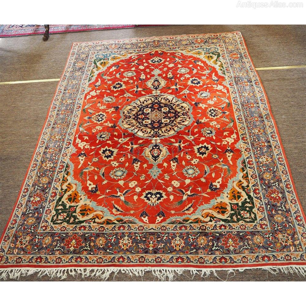 Finest Quality Iranian Isfahan Rug. Wool