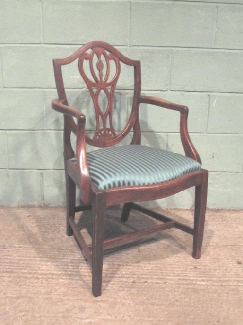 Incredible Antique Georgian Regency Mahogany Desk Chair C1800 Machost Co Dining Chair Design Ideas Machostcouk