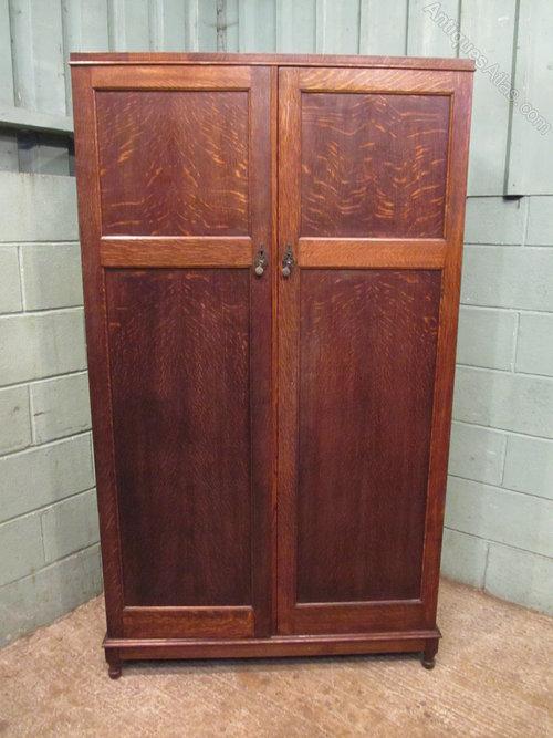 Antique Oak Wardrobe Compactum C1920 Antiques Atlas