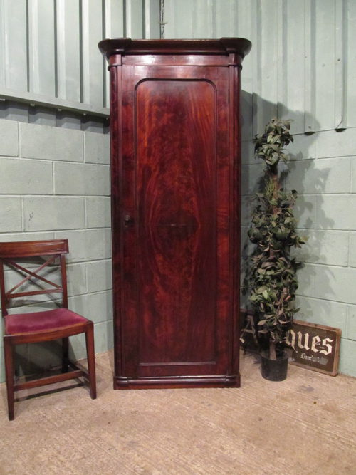 Antique Victorian Mahogany Single