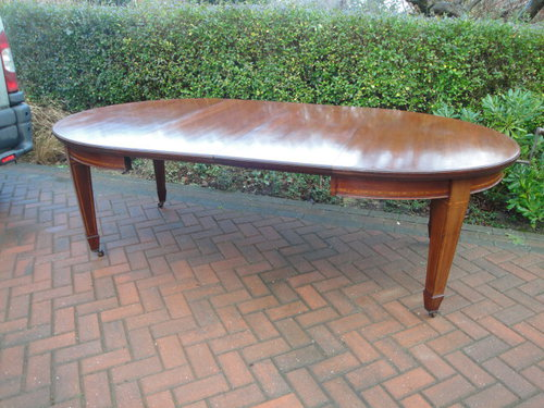 1033842a54b5 Large Antique Mahogany Extending Dining Table - Antiques Atlas