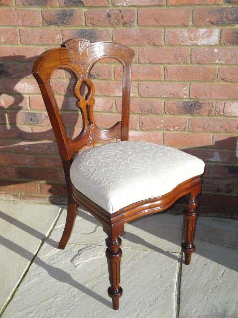 Set 12 Antique Mahogany Dining Chairs - Set 12 Antique Mahogany Dining Chairs - Antiques Atlas