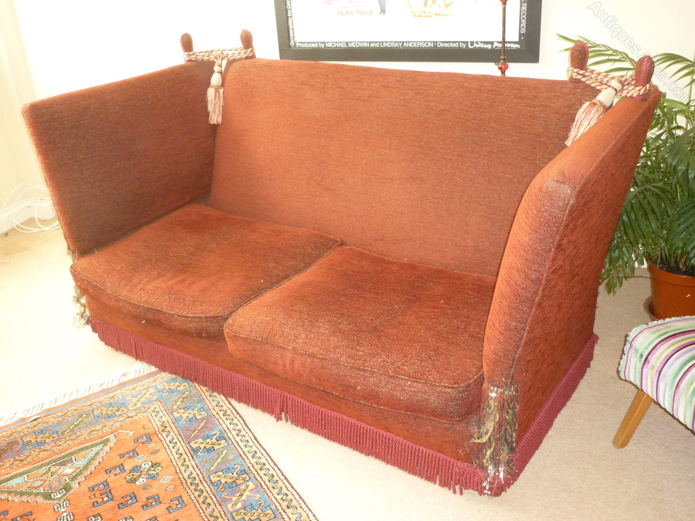 1920 S Knoll 2 Seater Sofa To Restored Antiques Atlas