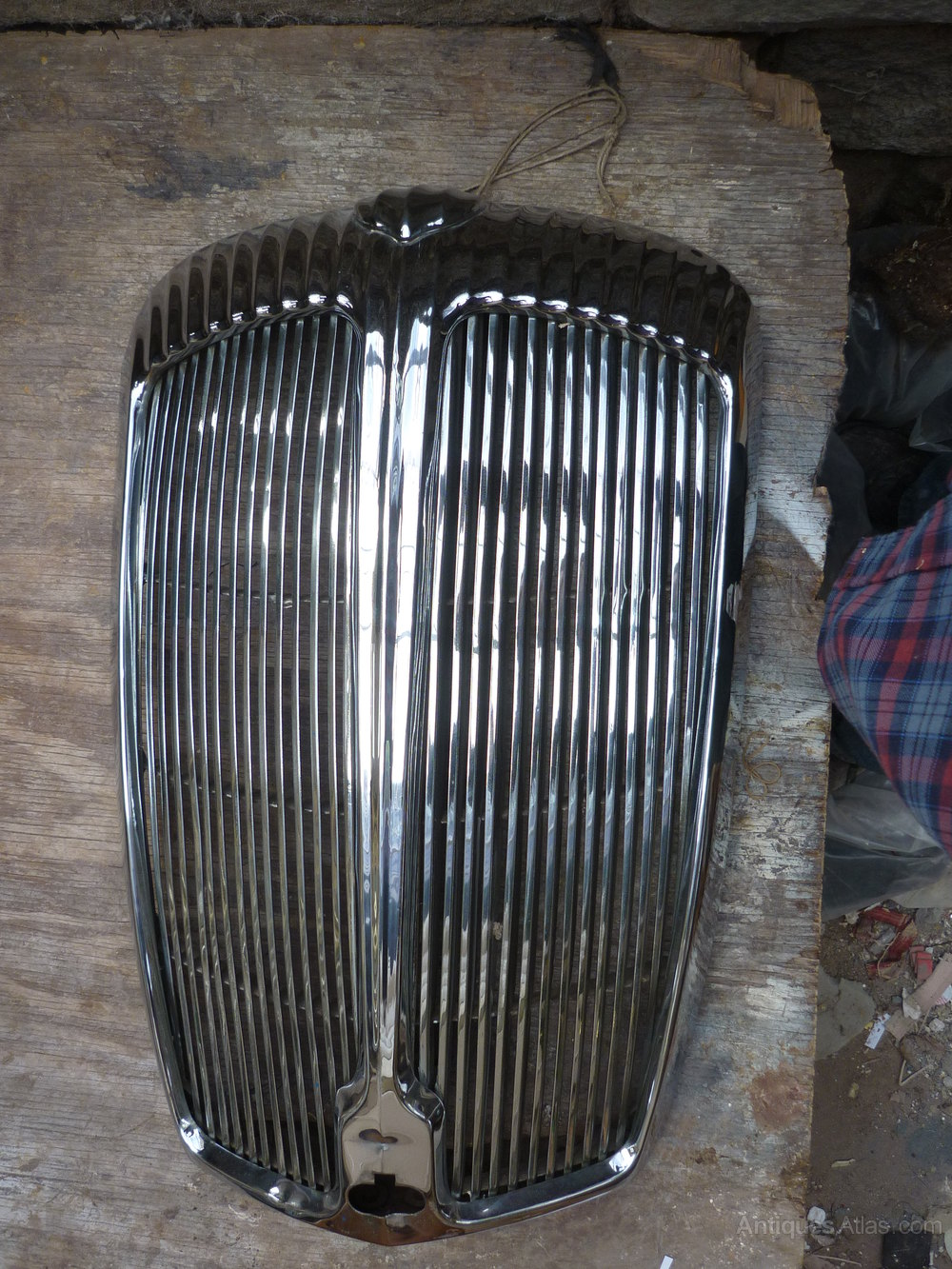 Antiques Atlas Daimler Majestic Major Radiator Grill