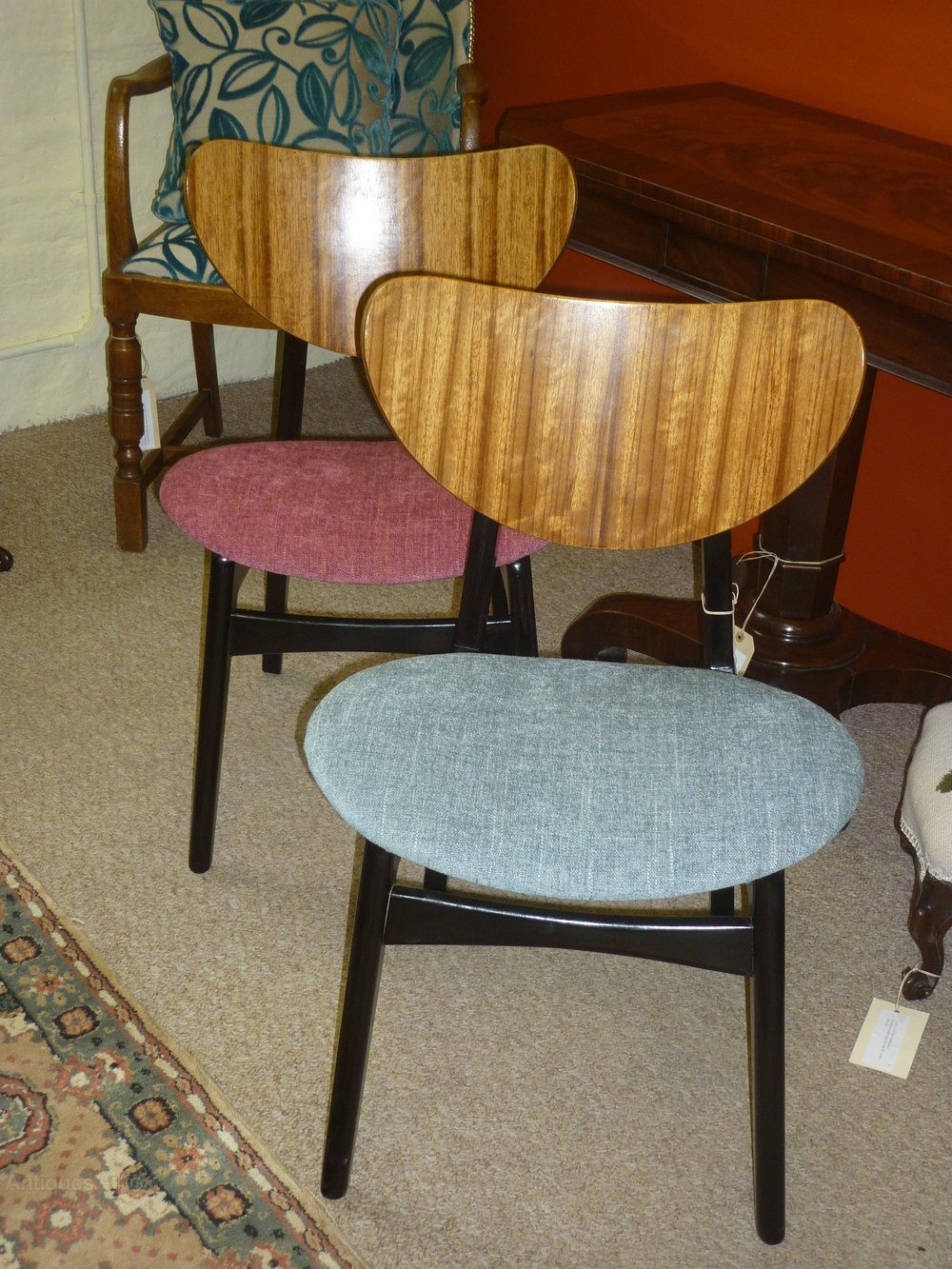Pair Of Antique Chairs G Plan E Gomme