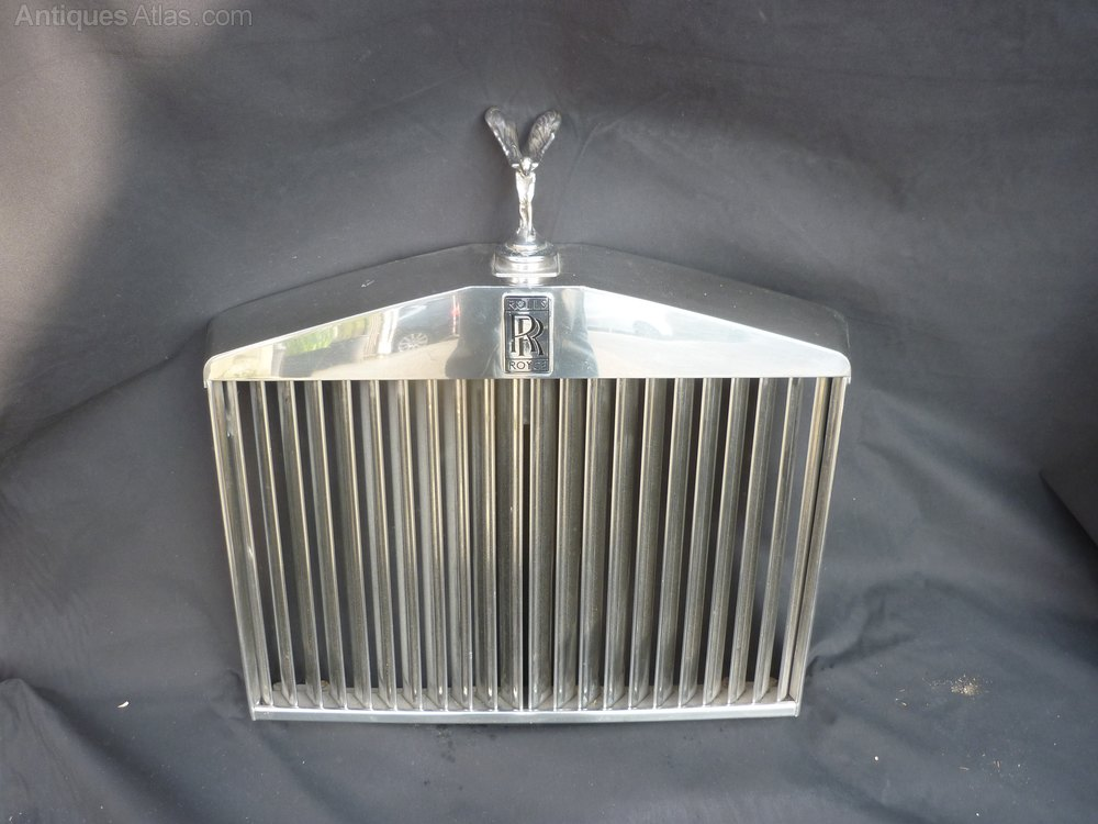 Antiques Atlas Rolls Royce Shadow Grill With Flying Lady
