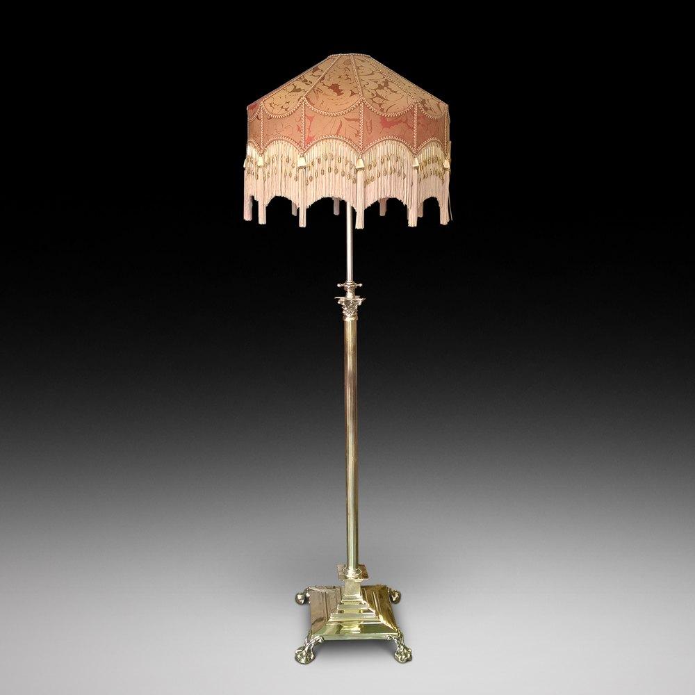 Antiques Atlas A Victorian Brass Corinthian Column