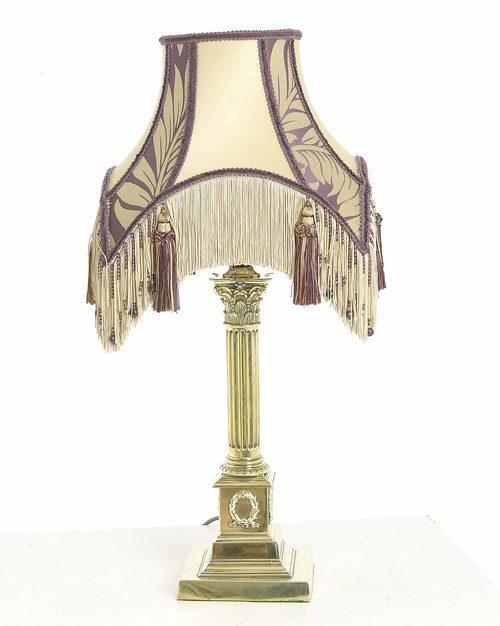 Antiques Atlas Brass Table Lamp