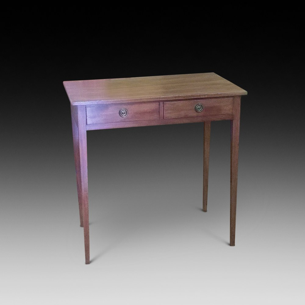 george iii mahogany hall table antiques atlas